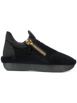 Giuseppe Zanotti Design Runner extended sole sneakers - Black