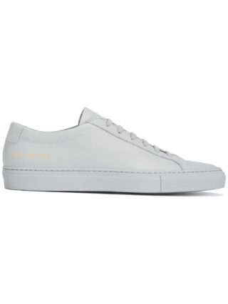 Common Projects grey Original Achilles Leather sneakers