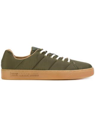 Premiata padded low top sneakers (groen)