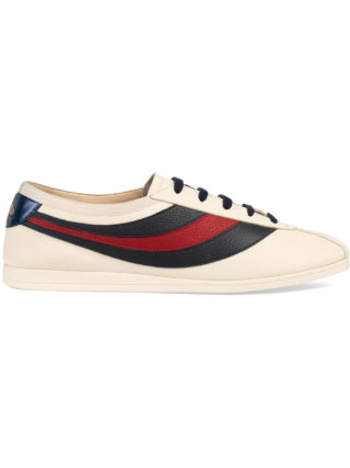 Gucci Falacer sneaker with Web - Nude & Neutrals