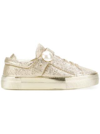 Nicholas Kirkwood Pearlogy low top sneakers (zilver)