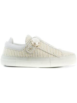 Nicholas Kirkwood Pearlogy low top sneakers (wit)