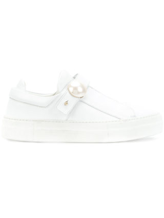 Nicholas Kirkwood Pearlogy sneakers (wit)