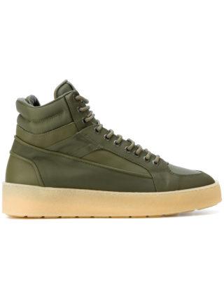 Etq. hi-top platform sneakers (groen)