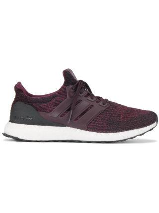 Adidas Burgundy Ultraboost Sneakers - Red