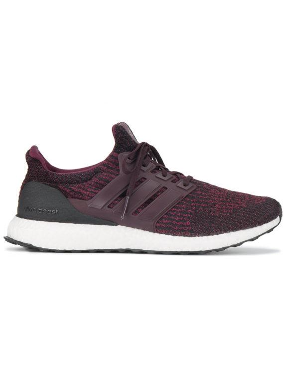 Adidas Burgundy Ultraboost Sneakers – Red