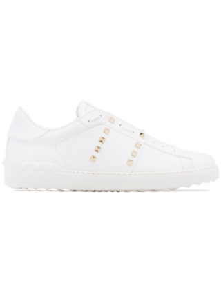 Valentino Rockstud Untitled sneakers - White
