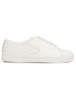 Bottega Veneta intreccatio weave sneakers - White