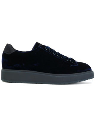Santoni lace-up sneakers (blauw)
