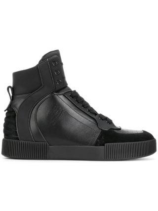 Dolce & Gabbana hi top sneakers (zwart)