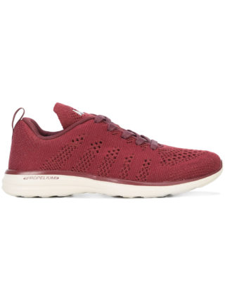 Apl woven lace-up sneakers (rood)