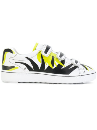 Ash touch-strap printed sneakers - White