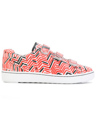 Ash touch-strap printed sneakers (multicolor)