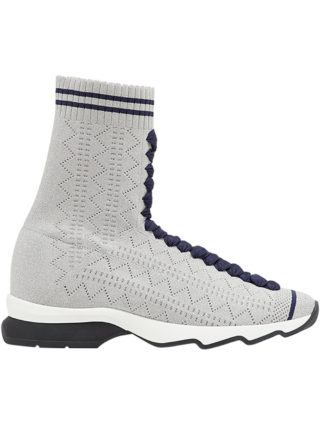 Fendi fabric sock sneakers (grijs)
