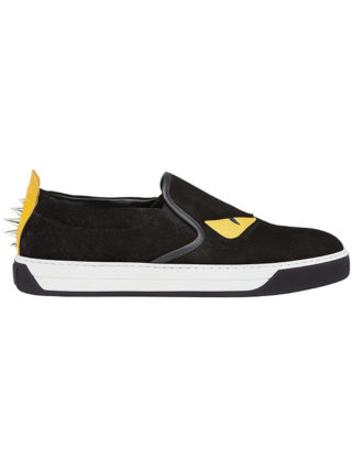 Fendi Bag Bugs slip-on sneakers (zwart)