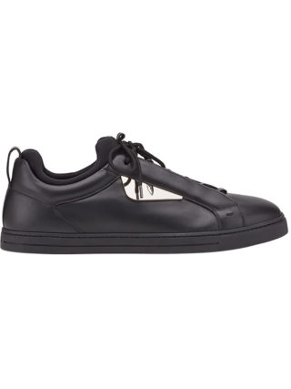 Fendi Bag Bugs sneakers (zwart)