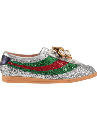 Gucci Falacer glitter sneakers - Grey