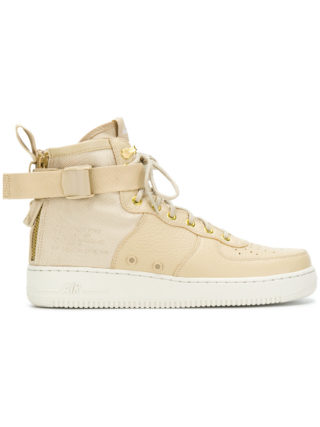 Nike SF Air Force 1 mid sneakers - Nude & Neutrals