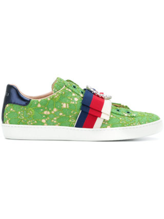 Gucci Ace lace sneakers (groen)