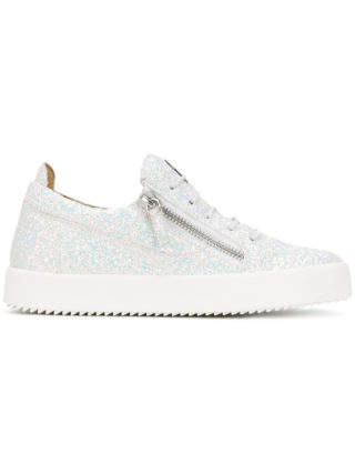 Giuseppe Zanotti Design Cheryl glitter sneakers - White