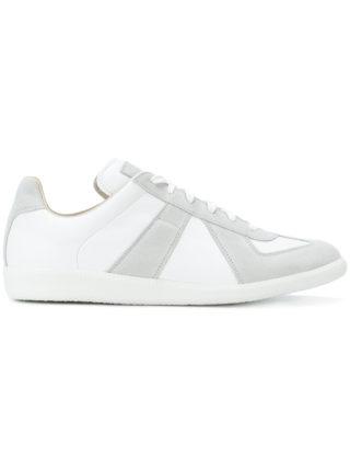 Maison Margiela Replica contrast sneakers - White