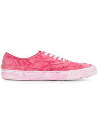 Yoshiokubo Damage sneakers (roze/paars)