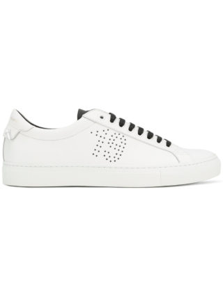 Givenchy 1952 perforated sneakers (wit)