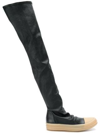 Rick Owens Stocking sneakers (zwart)
