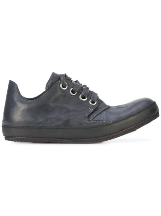 A Diciannoveventitre casual lace-up sneakers (zwart)