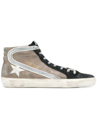 Golden Goose Deluxe Brand Slide high top sneakers (zwart)