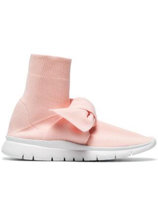 Joshua Sanders Pink Knot Sock sneakers (roze/paars)