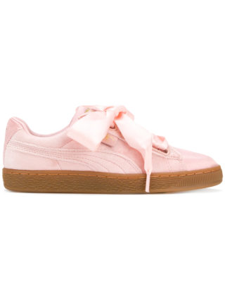 Puma Basket Heart sneakers - Pink & Purple