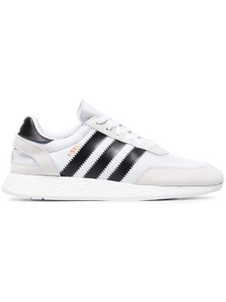 Adidas White Iniki Runner sneakers
