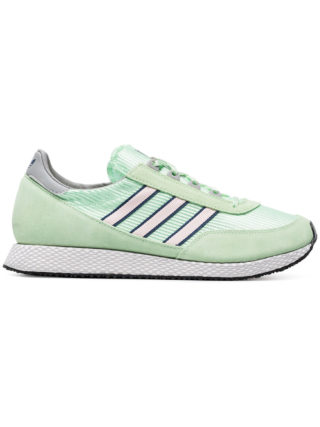 Adidas Green Glenbrook Spezial suede sneakers
