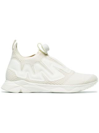 Reebok White Pump Supreme Sneakers - Nude & Neutrals