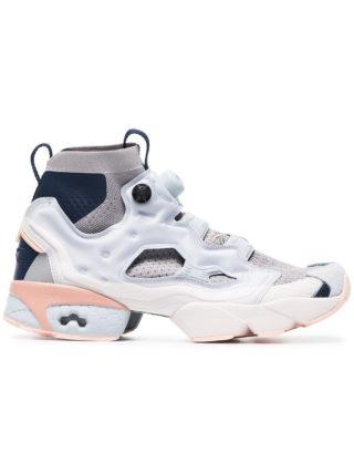 Reebok grey Instapump Fury ultraknit sneakers - Blue