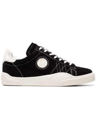 Eytys Suede Wave Low Top Sneakers (zwart)