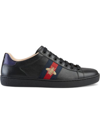 Gucci Ace embroidered sneakers - Black