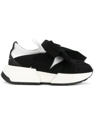 Mm6 Maison Margiela bow tie sneakers a (zwart)