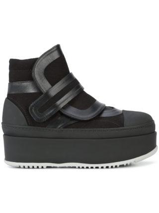 Marni platform high top sneakers (zwart)