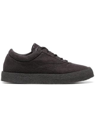 Yeezy graphite Crepe suede canvas flat sneakers (grijs)