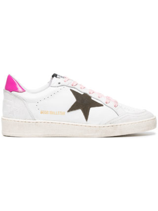 Golden Goose Deluxe Brand White Ball Star leather sneakers