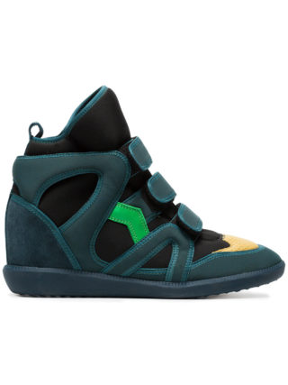 Isabel Marant Green Buckee Sneakers