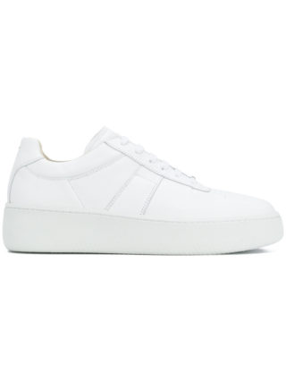 Maison Margiela classic low-top sneakers (wit)