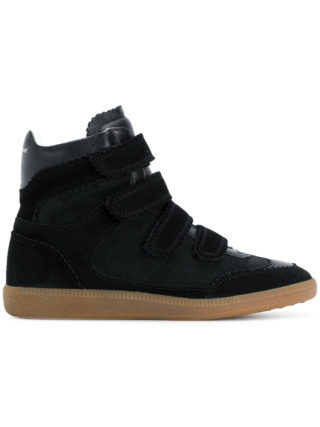 Isabel Marant Bilsy high top sneakers (zwart)