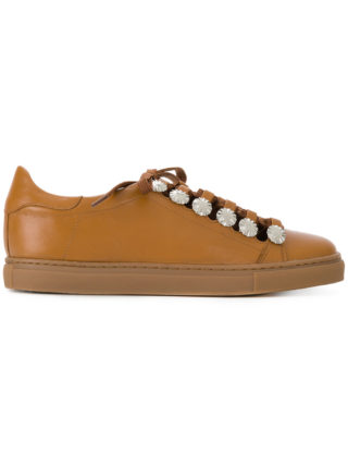 Toga Pulla lace-up sneakers (bruin)