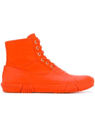 Both covered hi-top sneakers (geel/oranje)