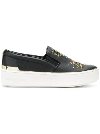 Michael Michael Kors Tyson slip-on sneakers (zwart)
