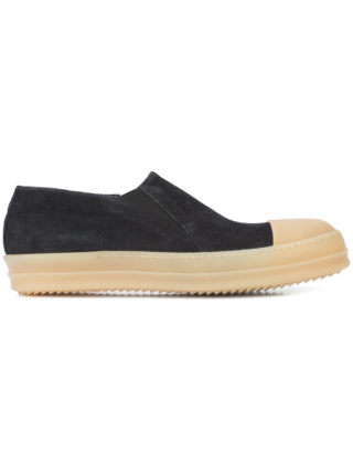 Rick Owens Boat sneakers (zwart)