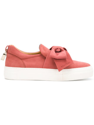 Buscemi bow detail sneakers (rood)